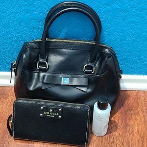 Sale Black Kate Purse and Wallet bundle